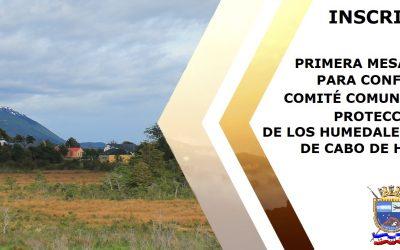 INSCRIPCIÓN PRIMERA MESA TÉCNICA PARA LA CONFORMACIÓN DE COMITÉ HUMEDALES