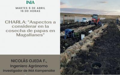 INVITA SEGUNDO CICLO DE CHARLAS VIRTUALES INIA
