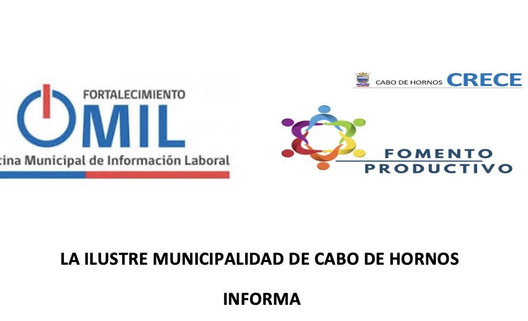 I. MUNICIPALIDAD DE CABO DE HORNOS INFORMA